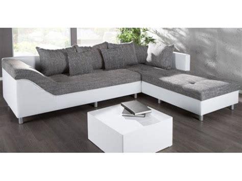 canape d angle droit sultan blanc gris