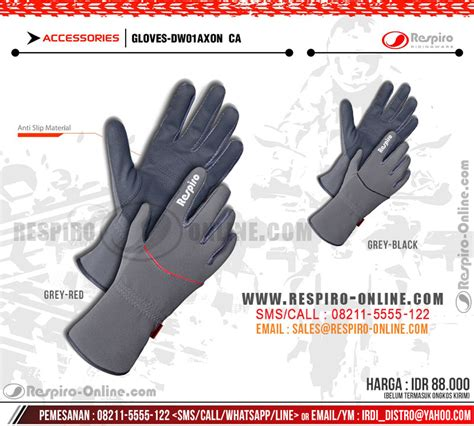 respiro mezo ep sarung tangan motor wanita dw1 axon gloves for