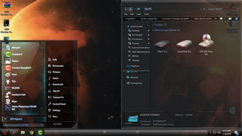 Windows 10 Theme Aphelion X Rs2 And Rs3