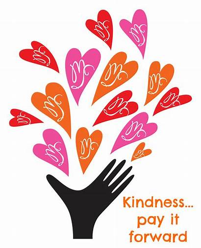Kindness Acts Clipart Random Spa Natural Line