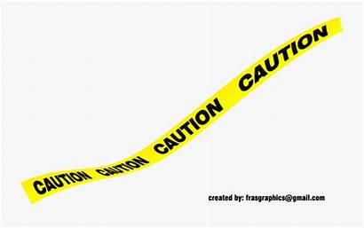 Tape Caution Yellow Transparent Clipart Warning Cartoon