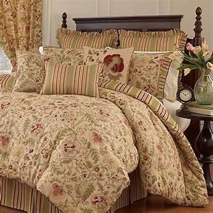 Waverly, Imperial, Dress, 4-pc, Reversible, Comforter, Set