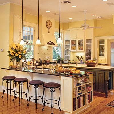 yellow kitchen cabinets what color walls 5 amazing kitchen color ideas to spice up your kitchen 2138