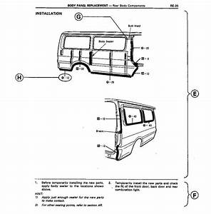 Toyota Hiace Body Repair Manual For Collision Damage