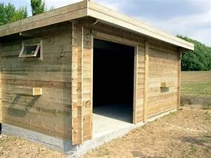 Garage En Bois Toit Plat : garages bois pr fabriqu s toit plat abri voiture simple ~ Dailycaller-alerts.com Idées de Décoration
