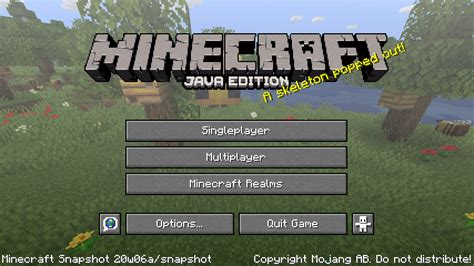 Java Edition 20w06a Official Minecraft Wiki