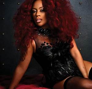 K Michelle Red Hair Strictly Hair Pinterest Cas