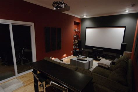 paint colors theater room moi chateau basement movie