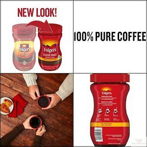 Makes up to 120 suggested strength 6 fluid ounce servings per canister. Folgers Roast Instant Coffee Crystals, 8 Ounces, Classic 25500262918 | eBay