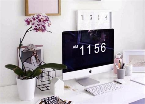 Work Desk by 27 Simple Ways To Make Your Office Desk Feel Less