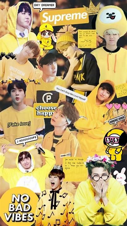 Aesthetic Yellow Jungkook Wallpapers Bts Jimin Lock