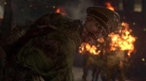 call of duty ww2 gets zombies co op survival mode