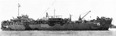 Motor Torpedo Boat Tender by Hyperwar Uss Callisto Agp 15