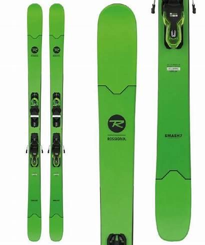 Skis Smash Rossignol Xpress Bindings