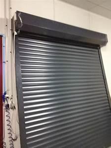 fabrication porte de garage enroulable a montauban With porte de garage enroulable avec bloc de porte