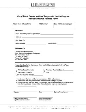 generic medical release form fill  printable