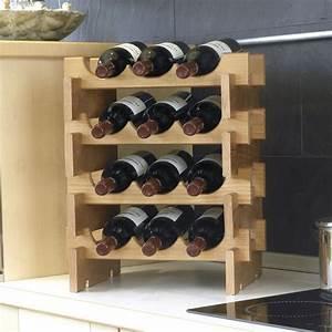 Casier à Bouteilles : casier bouteilles en bois s rie merlot e viti ~ Teatrodelosmanantiales.com Idées de Décoration