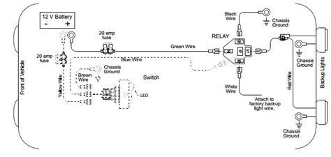 Back Light Wiring Diagram Auto Info Pinterest Lights