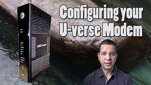 How To Configure Uverse To Work With A Home Router