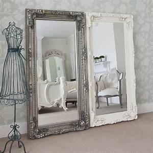 Spiegel Zum Hinstellen : die besten 25 shabby chic spiegel ideen auf pinterest ~ Michelbontemps.com Haus und Dekorationen