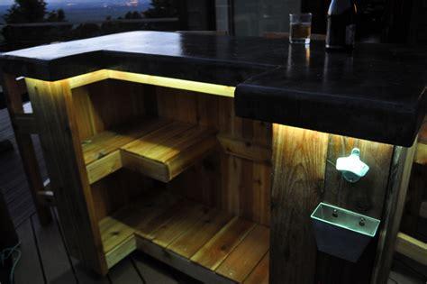 diy outdoor bar plans modern patio outdoor