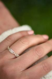 2018 popular wedding bands that fits around engagement ring With best wedding band for solitaire engagement ring
