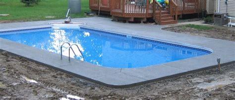 swimming pool kit installation inground pool kits pool
