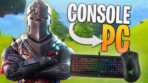 console player  pc fortnite pc fortnite solos