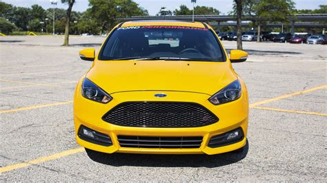 ford focus st  mountune top speed