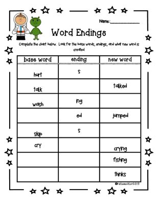 s ed ing worksheet inflected endings from katemoli on