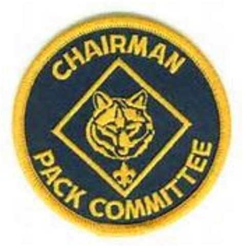 cub scout committee chair patch placement committee cub scout pack 6 tallahassee florida