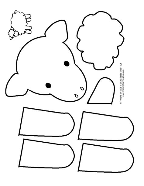 free coloring pages of cut and paste