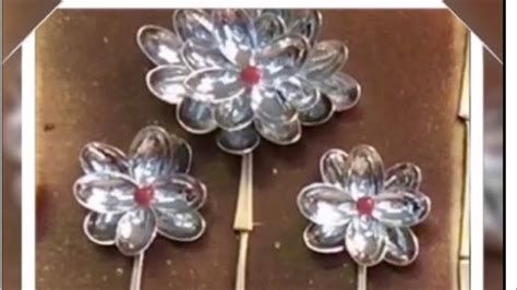 A candle is not only helping you to see in the dark but also become a pretty decoration in the home. Dollar Tree DIY Faux Spoon Flowers| Upcycled Plastic Spoon Wall Art - YouTube