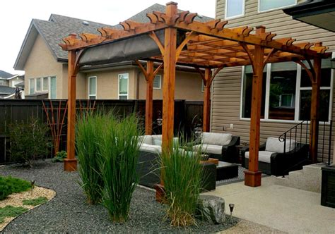breeze pergola  retractable canopy outdoor living today