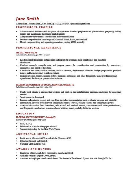 examples of professional profile on resume how to write a professional profile resume genius