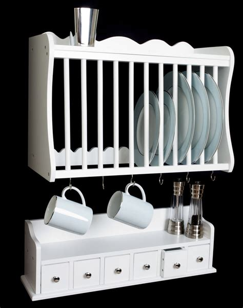 wall mounted plate rack kitchen plate rack wall mounted wooden wood and spice