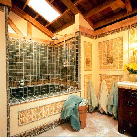 craftsman style craftsman bathroom portland