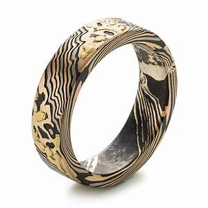 custom mokume wedding band 103470 With customizable wedding rings