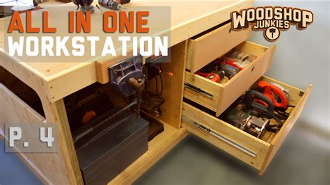 workbench  power tool storage    woodworking