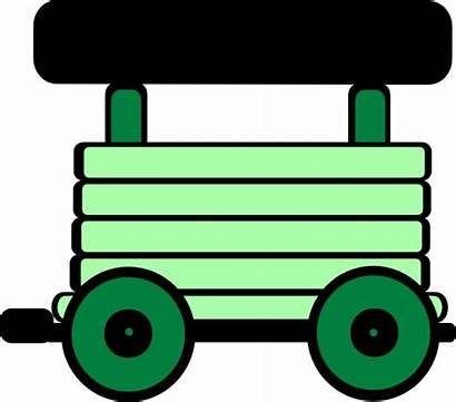Train Clipart Carriage Clip Loco Clker Cliparts