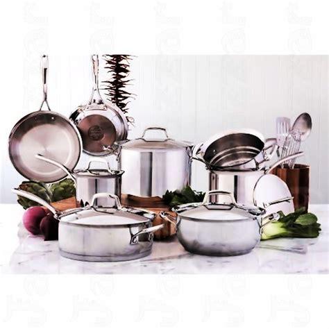 kirkland cookware signature stainless steel pan pot pc piece