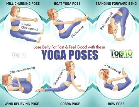 lose belly fat fast  feel good   yoga poses