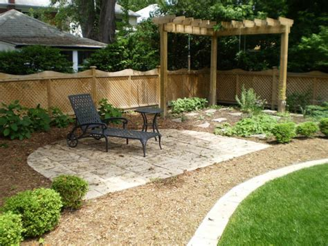 Easy Backyard Designs Landscape Ideas Garden Home