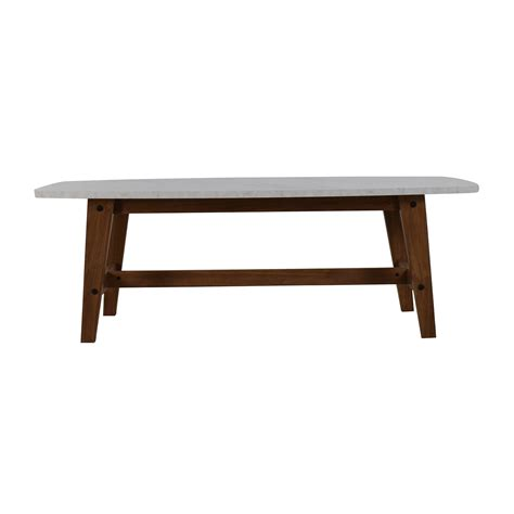 faux marble table l 82 off faux marble coffee table tables
