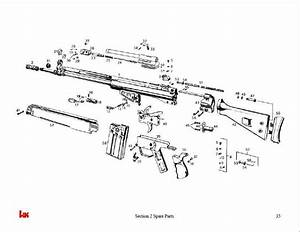 Heckler  U0026 Koch G3 Rifle Armorer U0026 39 S Manual Gun Guide H U0026k