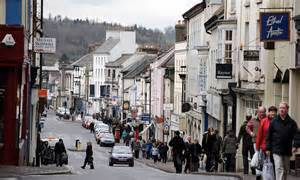 wikipedia launches britains  wiki town  monmouth