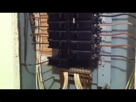 Old Ite Panel Lights Dimming Breaker Problems Youtube