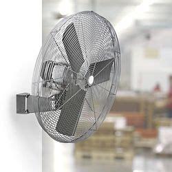 oscillating fan wall mount fan  stock uline wall