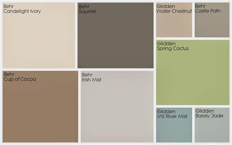 interior paint palettes aimlessly house tour paint colors