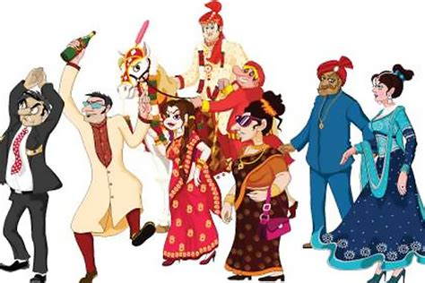 The 8 Funny Characters In Every Indian Wedding !